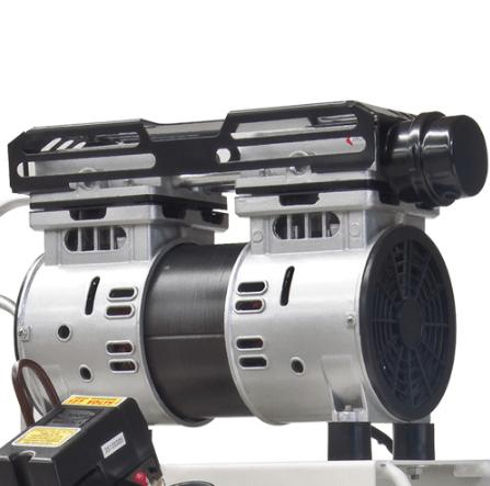 Compresor de aire medicair 1 hp 1 etapa libre de aceite for Compresor hidroneumatico