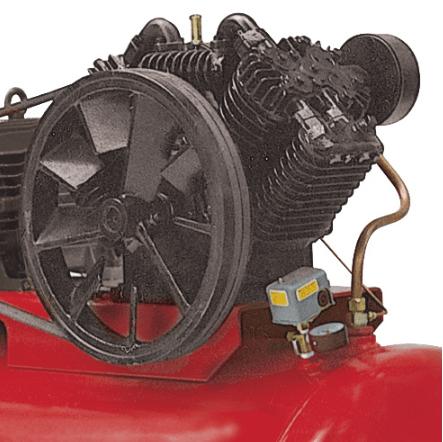 Compresor lubricado 2 etapas 20 hp trif sico tanque 1 for Compresor hidroneumatico