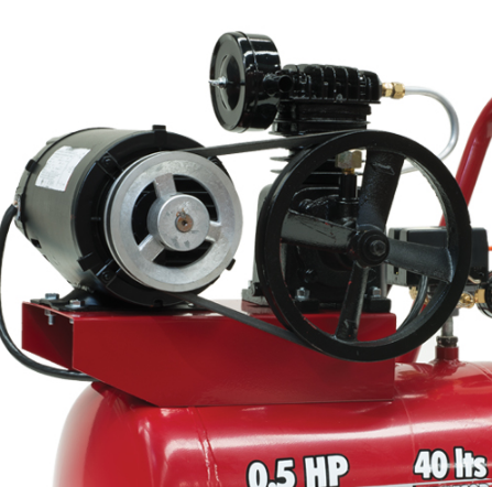 Compresor 1 etapa 1 2hp 40 litros e040me050 040 evans for Compresor hidroneumatico