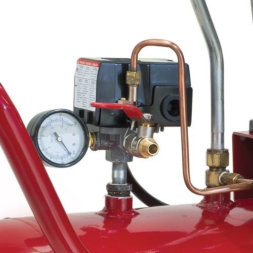 Compresor 1 etapa 1 5hp 108 litros 125 psi e13vme150 108 for Compresor hidroneumatico