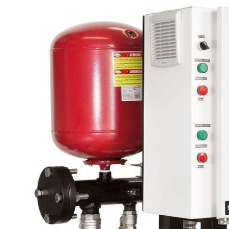 sistemas centrales de presión